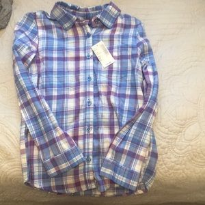 Children's place flannel shirt